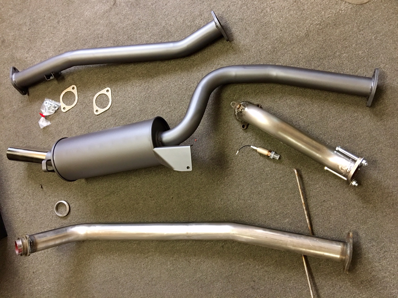 Exhaust Components and Upgrades