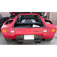 Lamborghini 6 Weber conversion and distributorless ignition...