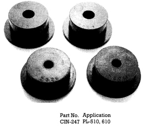 Polyurethane 510 Crossmember Insulators
