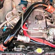 Over the valve cover pipes with Compressor Bypass and Blow-Off valves