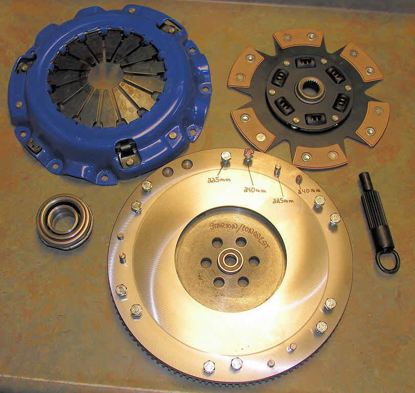 Clutch and Driveline components and upgrades