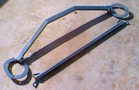 Starion - Conquest Front and Rear Strut Tower Braces