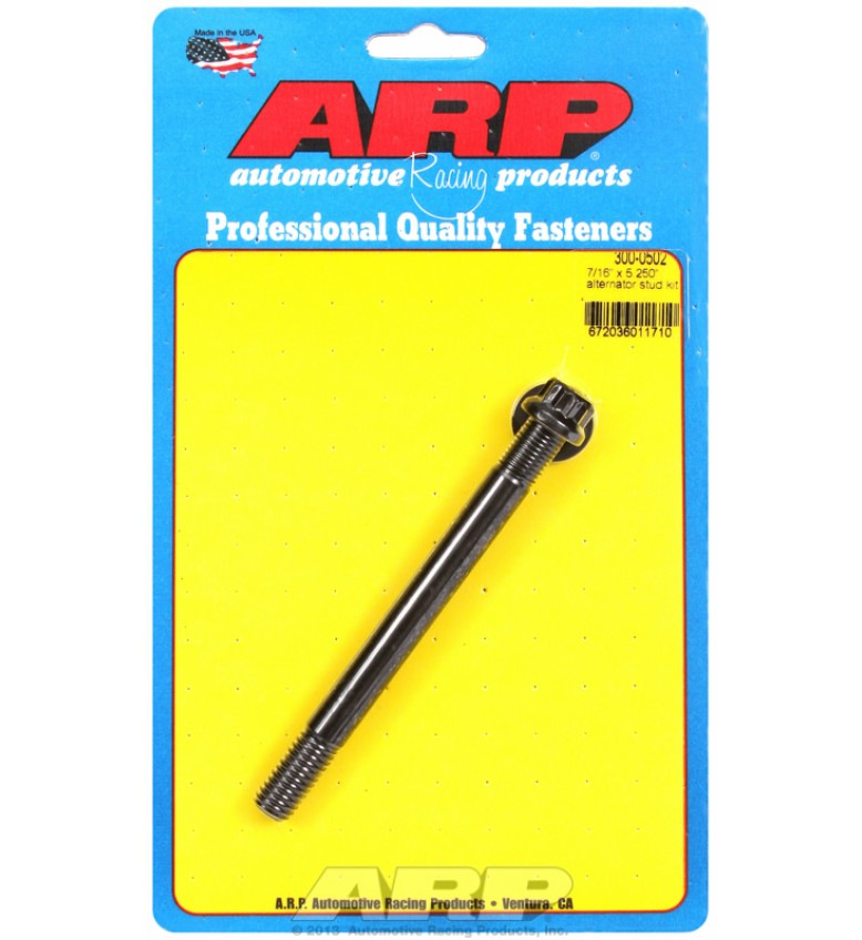 "ARP Hardware - 7/16"" x 5.250 alternator stud kit"