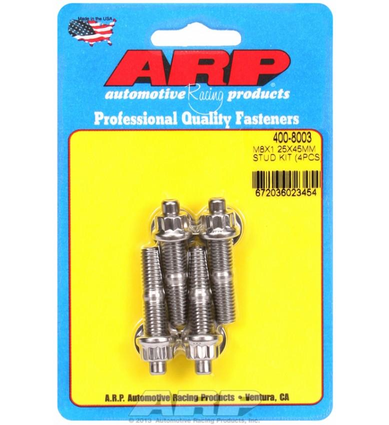 ARP Hardware - M8 X 1.25 X 45mm broached stud kit - 4pcs