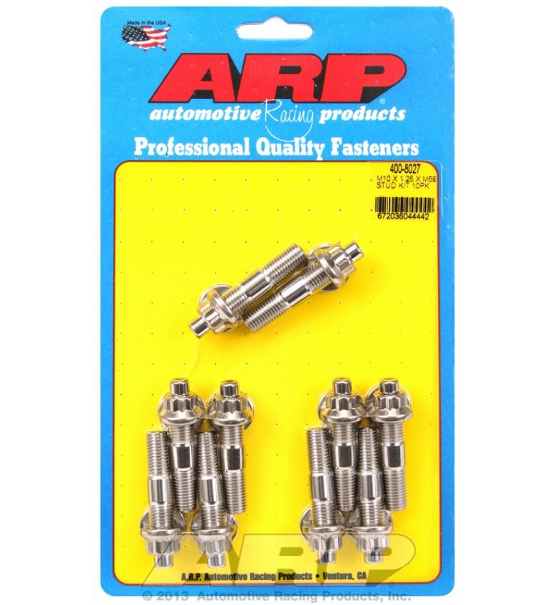 ARP Hardware - M10 X 1.25 X 55mm broached stud kit 10pcs