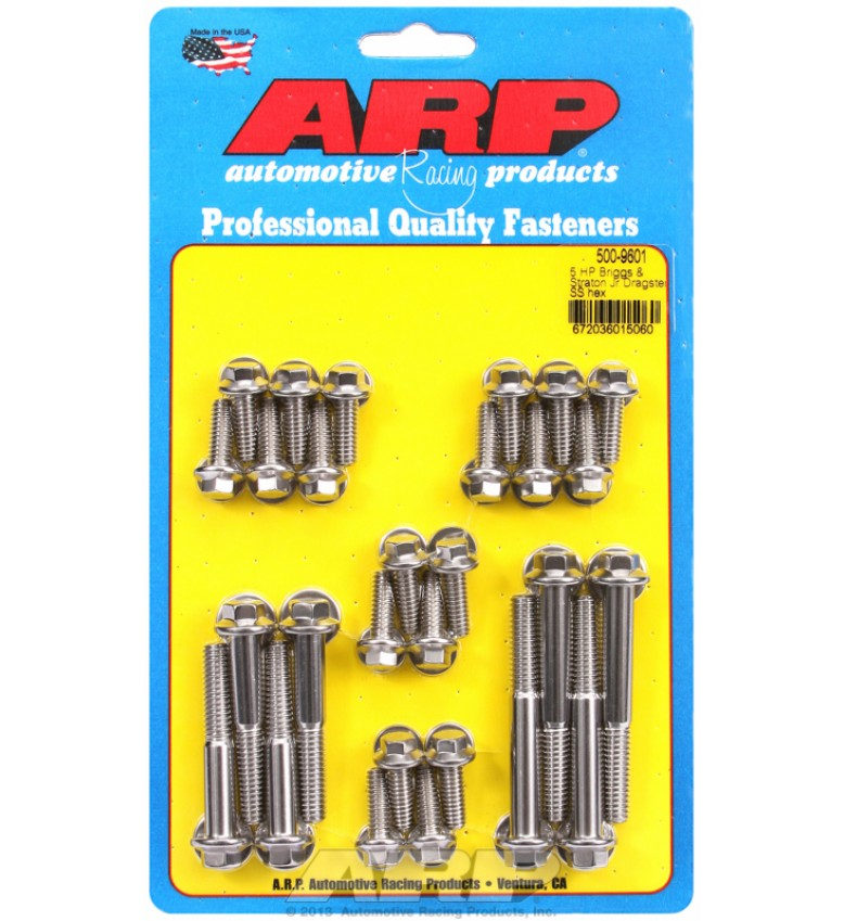 ARP Hardware - 5 HP Briggs & Straton Jr Dragster SS hex acc kit