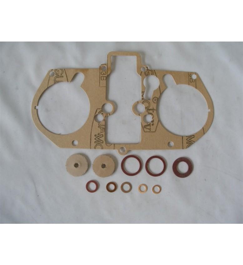 GASKET KIT, Italian w/leather seals, 48-IDA