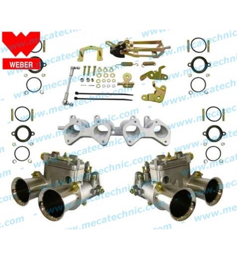VW 8-valve water, 2x40-DCOE