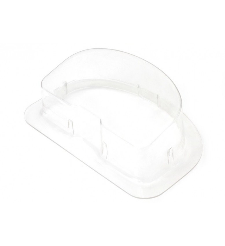 IQ3 Dash Clear plastic cover with mounting flange - Great for Boats, Bikes and Off-road Buggies etc