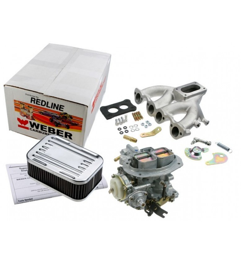 VW 8-valve water, 32/36 DFEV w/manifold