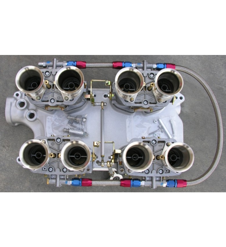 B.B. manifold and linkage assemblies