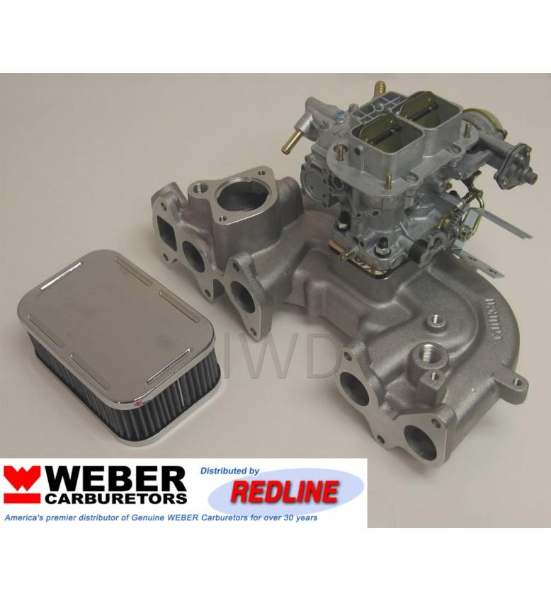 Toyota 20R, Carb & Mnfld Upgrade 38 DGES