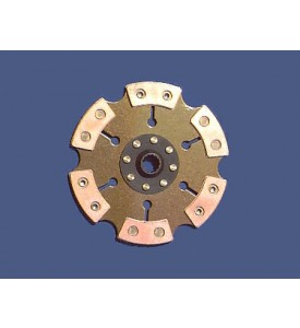 228mm Racing Clutch Disc - Solid Center