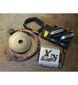 "8 Cyl XDi - includes ECU, Harness, 2 x 4 Cyl Coil Packs, Trigger Wheel and 1/2"" Mag P/U"