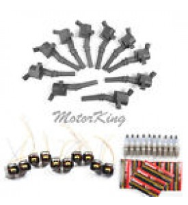 COIL, Ford V8/V10 97-13, 4.6,53.4,6.8L coil on plug 2-heads
