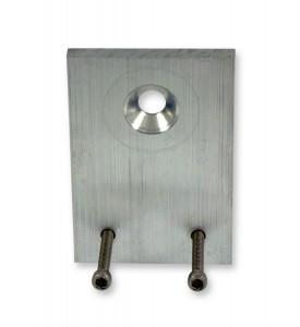 Bracket, Aluminum w/Screws for MAC Solenoid