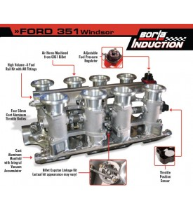 Top End Performance - V8 Throttle Body Kits - Borla Induction