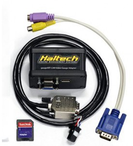 Haltech gaugeART CAN to VGA video Gauge Adapter - Suits Haltech Version 2 CAN bus protocol