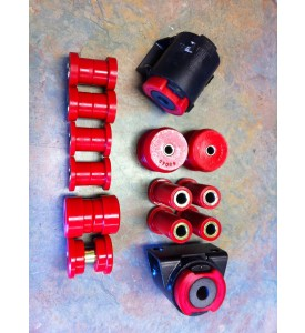 Front AND Rear  Urethane bushing kit for 2002 WITH Subframe Inserts