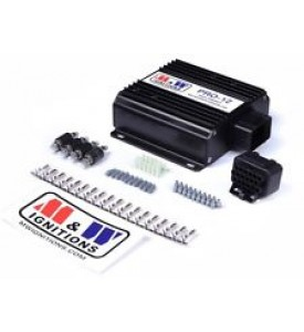 M&W Pro-Drag6 500mJ CDI (Pair) S4 (2 Stroke or Ultra High RPM)  Autronic multiplex trigger (includes plugs & pins)