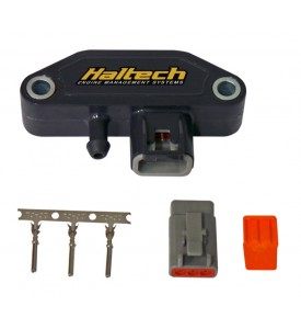 Plug and Pins Only - Male Deutsch DTM 3 Connector (7.5 Amp)  (includes Male Plug, Wedgelock Seal & Female Pins)