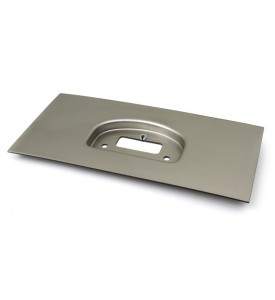 "IQ3 Dash Moulded Panel Mount - Brushed Silver 20"" x 10"" / 500mm x  250mm"