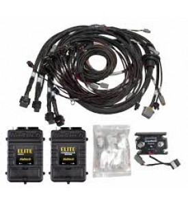8 Channel Individual High Output IGN-1A Inductive Coil & Harness Kit  - Suits Big Block/Small Block GM/Chrysler Hemi V8 - Direct Plug In to Haltech V8 Terminated Harness, Elite + REM 16 Injector Terminated Harness