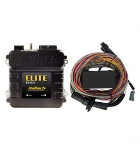 Elite 550 - 2.5m (8 ft) Premium Universal Wire-in Harness Kit Includes firewall grommet, moulded 6 power circuit Haltech fuse box & lid.