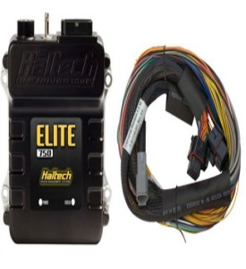 Elite 750 - 2.5m (8 ft) Basic Universal Wire-in Harness Kit (no relays or fuses)