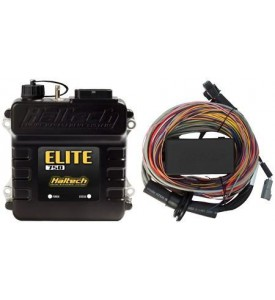 Elite 750 - 2.5m (8 ft) Premium Universal Wire-in Harness Kit Includes firewall grommet, moulded 6 power circuit Haltech fuse box & lid. Includes 2 relays, 4 fuses.
