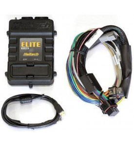 Elite 2500 & Race Expansion Module (REM) with ADVANCED TORQUE MANAGEMENT & RACE FUNCTIONS - 16 Sequential Injector Integrated Kit 2.5m (8 ft) Universal Wire-in Kit - Used for a new full installation - inc both ECUs & 160A SSR