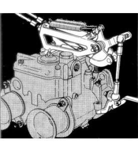 Deluxe Top-Mount DCOE Linkage Kit