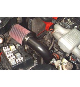 """BMW E21 Cold AIr Inlet pipe with 3"""" High Flow Cone Filter"""