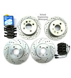 STG.2: Front & Rear Upgrade Brake Kit - E36 325, 328, and 318