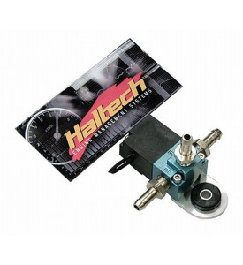 Haltech Boost Control Solenoid 3 Port 1/8th NPT- 33Hz (inc hose fittings, rubber isolated mount and matching DTM 2 plug and pins set)