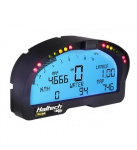 Haltech HALTECH IQ3 Display Dash - Reads Vnet Sensors and includes Internal CAN Interface Module to read Haltech ECU info/sensors (NO DIRECT TACHO INPUT FOR A STAND ALONE INSTALL)