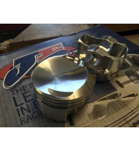 BMW M20 Custom Hemi Dome Piston Set from Chamber Mold to be mailed to us