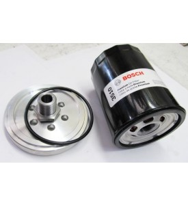 Oil Filter Adapter, spin-on Type - M30 E9/E12