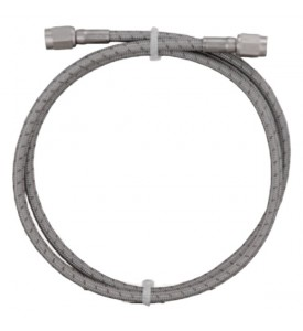 Oil Supply Hose Assy, -4 X 24""