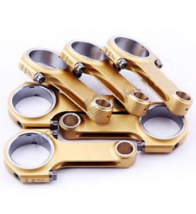 H-Beam Connecting Rods For Porsche 911 3.0 77-83 Air-Cooled Engine