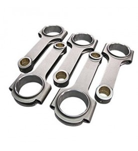 H-Beam Connecting Rods for Volvo Modular Engines 147mm Rod Length 5pcs