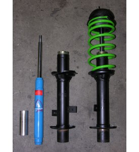 Stock Sealed Rear Struts to Tokico Replaceable strut