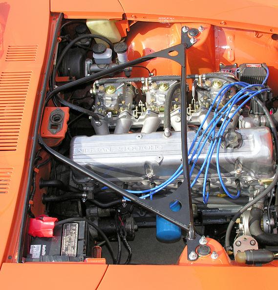 Top End Performance - 240Z-280Z Car Front Ultimate Strut Tower Brace