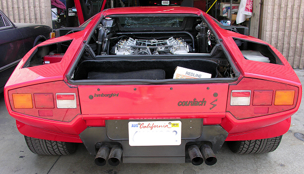 Top End Performance - Lamborghini 6 Weber conversion and